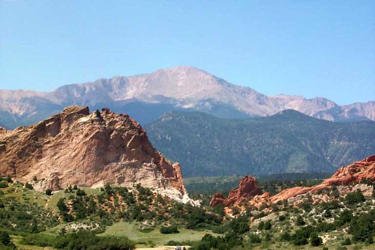 Garden of the Gods + Pike's Peak - 58811