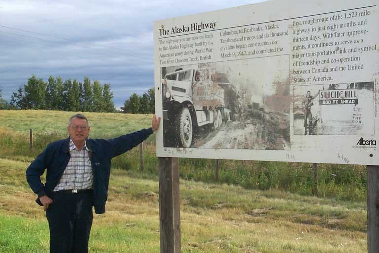 'REAL' Start of ALASKA HIGHWAY - 60030