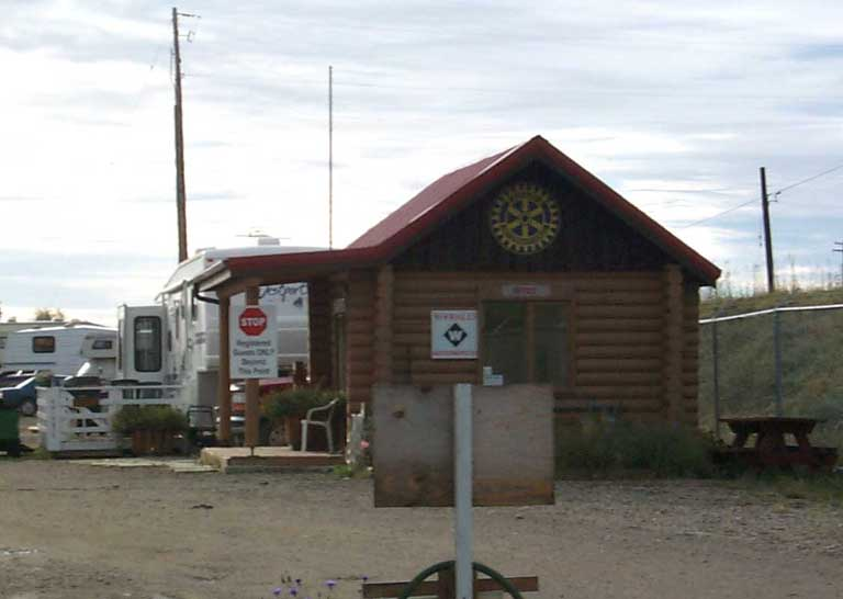 DC 51 - Entering Rotary Campground at Fort St John - 37471